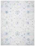 Essence Blue Wool Rug 8' x 10' - 3