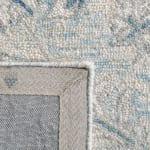 Essence Blue Wool Rug 8' x 10' - 4