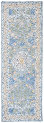 Safavieh Blue Wool Rug - 2