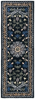 Safavieh Black Wool Rug - 2