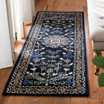 Safavieh Black Wool Rug - 1
