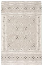 Essence Gray Wool Rug 5' x 8' - 2