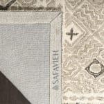 Safavieh Essence Gray Wool Round Rug  5' - 4