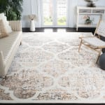 Safavieh Adelina 668 Ivory & Gold Wool Rug - 1