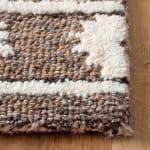 Vail Ivory & Brown Wool Rug - 3