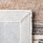 Vail Ivory & Brown Wool Rug - 4