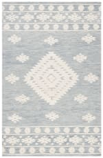 Vail ray & Ivory Wool Rug - 2