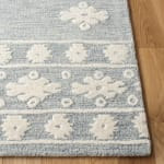 Vail ray & Ivory Wool Rug - 3