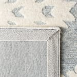 Vail ray & Ivory Wool Rug - 4