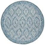 Vail Gray & Blue Wool Rug - 2