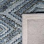 Vail Gray & Blue Wool Rug - 3