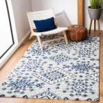 Safavieh Vail Gray & Blue Wool Rug - 1