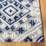 Safavieh Vail Gray & Blue Wool Rug - 3