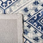 Safavieh Vail Gray & Blue Wool Rug - 4