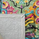 Vail Green & Black Wool Rug - 4