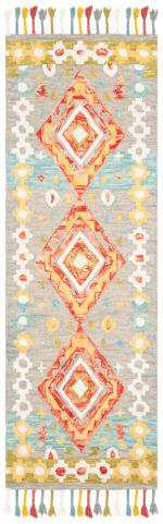 Safavieh Vail Gray & Red Wool Rug - 6