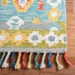 Safavieh Vail Gray & Red Wool Rug - 7