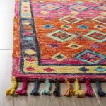 Vail Orange & Pink Wool Rug - 3