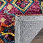 Vail Orange & Pink Wool Rug - 4
