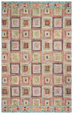 Safavieh Vail Pink & Gold Wool Rug - 2