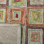 Safavieh Vail Pink & Gold Wool Rug - 4