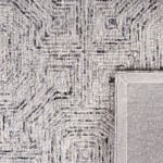 Vail  Gray & White Wool Rug - 8
