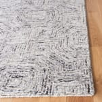 Vail  Gray & White Wool Rug - 7