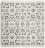 Safavieh Vail Square Green & Gray Wool Rug - 1