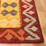 Safavieh Vail Red & Gold Wool Rug - 3