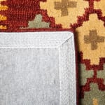 Safavieh Vail Red & Gold Wool Rug - 4