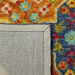 Safavieh Vail Blue & Orange Wool Rug - 4