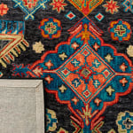 Vail Gray & Blue Wool Rug - 4