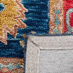 Vail Red & Blue Wool Rug - 4