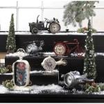 Vintage Tractor Desk Clock - 1
