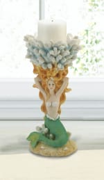 Grand Mermaid Candle Holder - 4