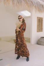 Autumn Peasant Dress - 4