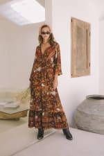 Autumn Peasant Dress - 1