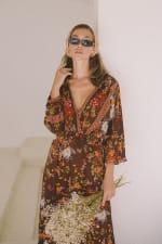 Autumn Peasant Dress - 6