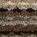 J&M Multi Stripe Printed Nylon Rug 20x30 - 3
