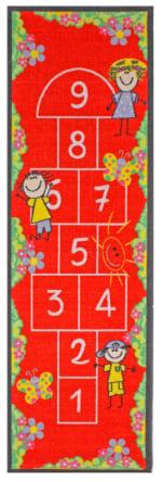 J&M Hopscotch Rug Childs Play 24x76 - 1