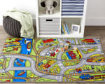 J&M Kids Play Rug Street Map 40x60 - 2