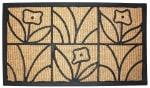 J&M Tuffridge Light Daisy Doormat 18x30 - 1