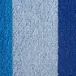 J&M Cabana Blue Stripe Beach Towel - 6