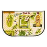 J&M Olives Print Kitchen D-Slice Rug 18x30 - 1