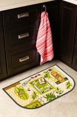 J&M Olives Print Kitchen D-Slice Rug 18x30 - 5