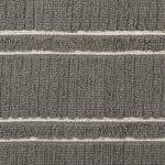 J&M Gray Ribbed Terry  Dishtowel Dishcloth (Set of 8) - 7