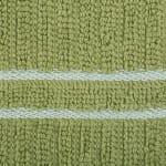 J&M Green Ribbed Terry  Dishtowel Dishcloth (Set of 8) - 3