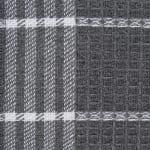 J&M Gray Waffle Weave Dishtowel (Set of 6) - 7