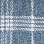 Blue Waffle Weave Dishtowel Set of 6 - 6