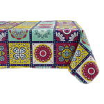 J&M Morocco Summer Vinyl Tablecloth 60x84 - 2